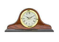 Mantel Clock Q2007CK 5.0 H x 9.5L x 2.0 W Quartz, Decorative Shelf Clock