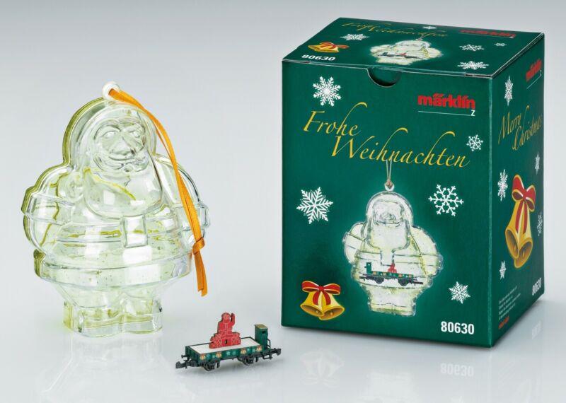 Marklin Z 80630 Christmas 2020 Collector Car Ornament $0 SHIPPING