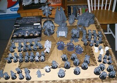 Warhammer 40k Space Marine army - Vehicles, Bits and More