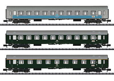 Arnold HN4182 NEU Spur N Personenwagen Set S-Bahn Leipzig DR Ep.IV 3x