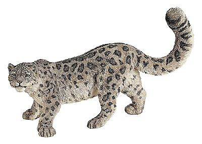 SNOW LEOPARD  Replica # 50160 ~ FREE SHIP/USA w/ $25.+ Papo Products