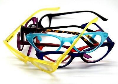 Optische Brille Lesen von Frau Auge von Katze Stil Retro Vintage Cat Eye