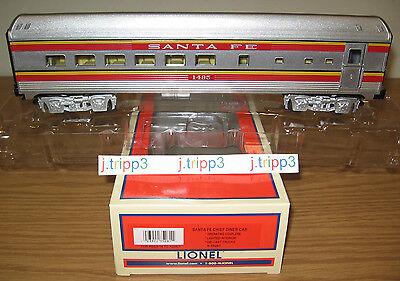 LIONEL 6-35281 SANTA FE SF DINER PASSENGER CAR TOY TRAIN O GAUGE SUPER CHIEF NIB