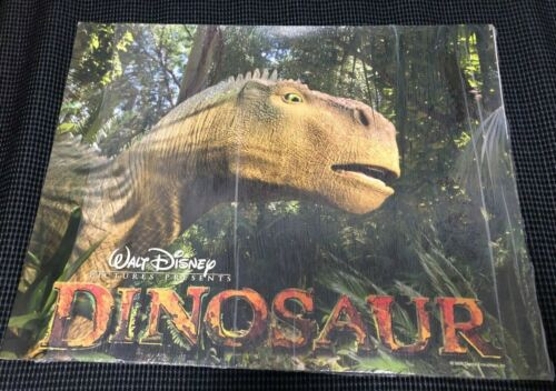 DINOSAUR movie original US Lobby Card 11x14 set Walt Disney 2000