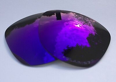 NEW POLARIZED PURPLE MIRRORED REPLACEMENT OAKLEY FROGSKINS LENSES
