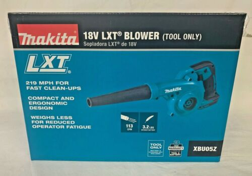MAKITA 18V XBU05 LXT Compact Blower 219 MPH 18 Volt LXT -New In Retail Packaging