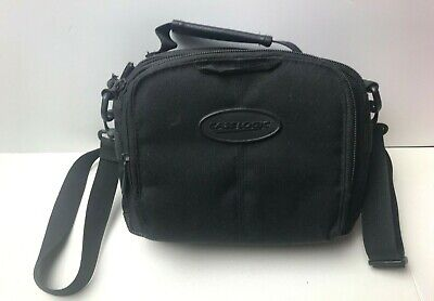 Camcorder Kit Bag (Case Logic Compact Camera Camcorder Kit Bag with Zipper and Strap Black )