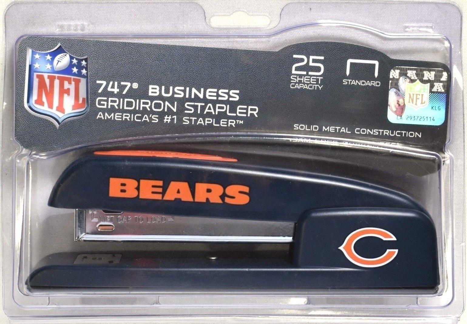 """Desktop Stapler, Bears,1-4/5""""Wx6-1/5""""Lx2-1/10""""H, Multi"""
