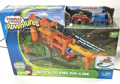 Fisher Price Thomas and Friends Adventures Misty Island Zip-Line Train Playset](Zipline Games)