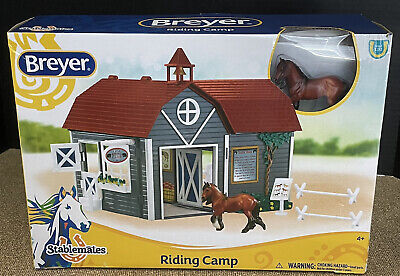 Breyer Riding Camp Stablemates Barn Horse and Stable New Original Box