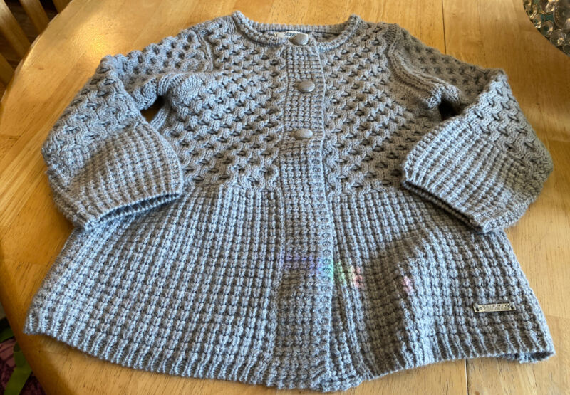 Mayoral Girl Toddler Girl Size For Gorgeous Gray Sweater