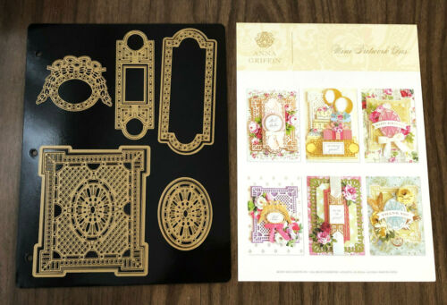 Anna Griffin Mini Fretwork Cut and Emboss Dies NEW