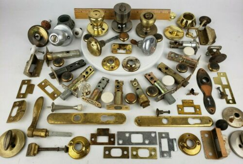 Lot Door Hardware Locks Handles Stop Latch Strike Plate Cabinet Pull Kwikset