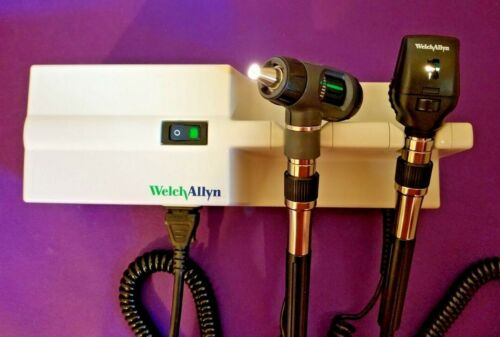Welch Allyn 767 Transformer Macroview Otoscope & Ophthalmoscope Diagnostic set