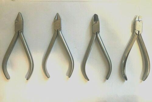 Authentic Hu-Friedy™ Orthodontic Plier Set - 4 pieces