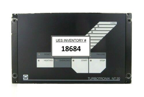 TURBOTRONIK NT 20 Leybold 857 21 Turbomolecular Pump Control  V1.4 Bent Tested