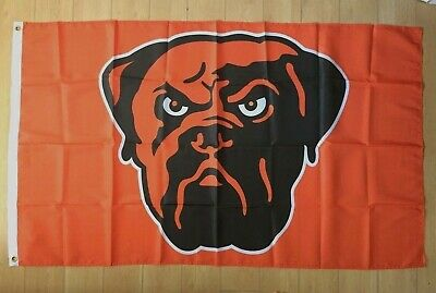 Cleveland Browns 3x5 ft Flag Banner Dawg Pound NFL