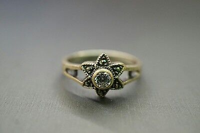 Beautiful Vintage Star 925 Antique Ring!! (#2165)