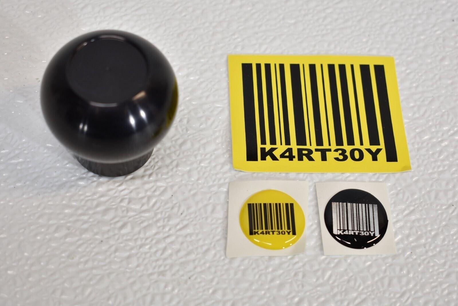 Black SALE Kartboy Aluminum Shift Knob Knuckle Ball for Impreza //WRX //BRZ //FRS