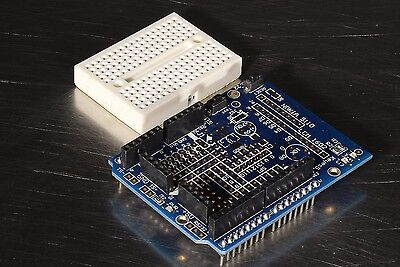 Prototyping Shield Protoshield Mini Breadboard For Arduino Uno R3 Usa Seller