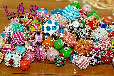 New 20 pc fine Indonesian style beads from Jesse James, Lilah Ann, India- K508