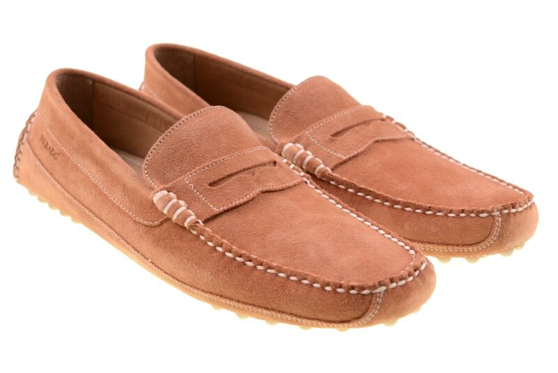 3d8a9513d48 NWB Sebago Mens Westfield Classic Rust Suede Leather Rouille Loafers ...