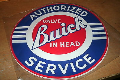 Buick Authorized Valve In Head Service Salesmans Dealership Sticker Decal11 Inch