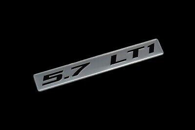TPI Throttle Body Plate for Chevy Bowtie Corvette C4 Black