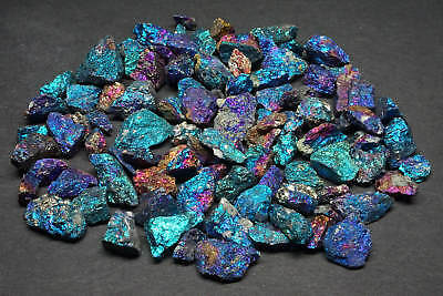 Chalcopyrite 1/4 Lb Lots Peacock Ore Blue Purple Pink Silver Mexico