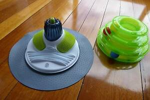 CATIT Massage Centre + 3 tier toy, all new New Town Hobart City Preview