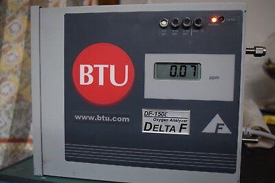 Delta F 150-e Oxygen Analyzer Btu Df