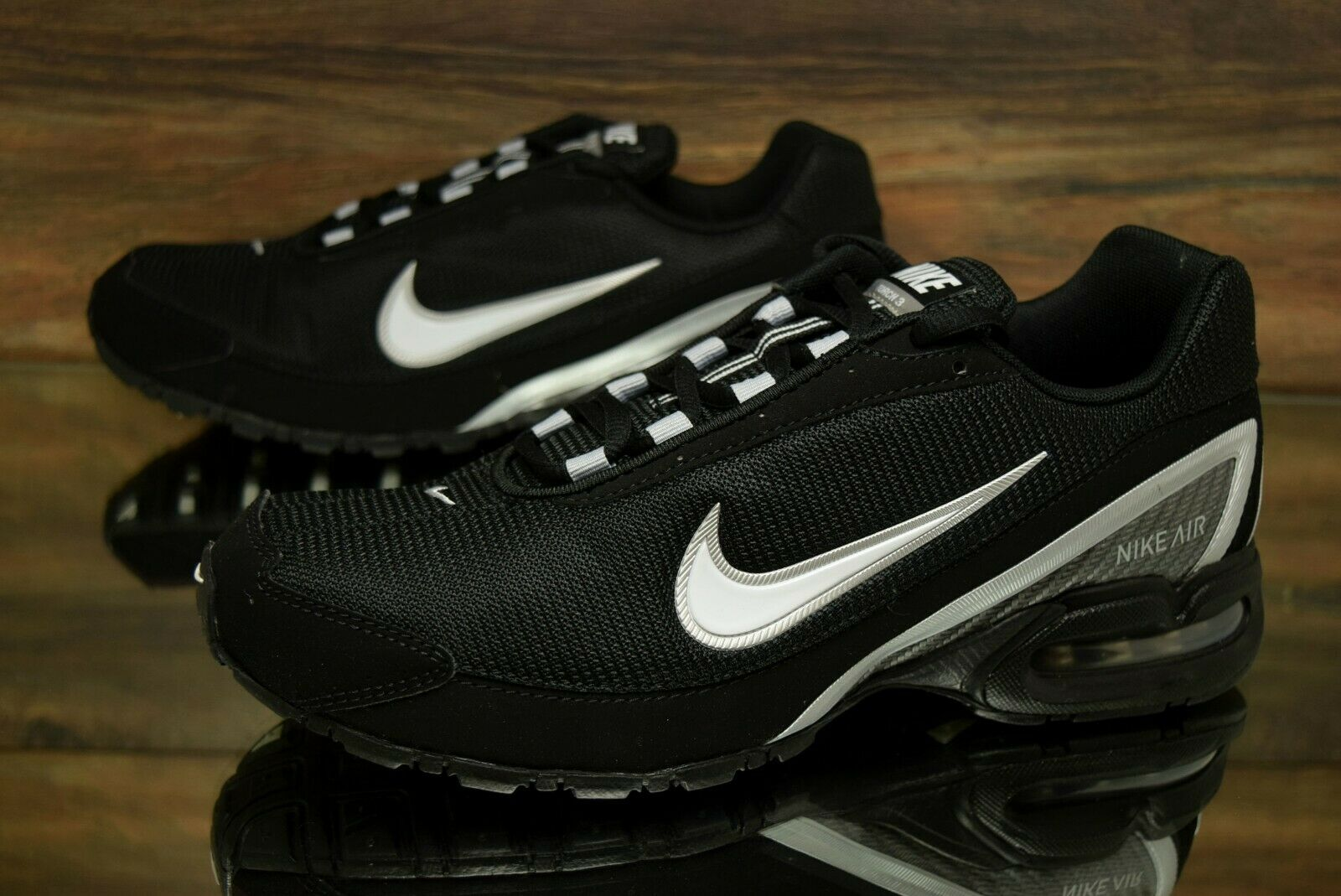 Nike Air Max Torch 3 Black White 319116 011 Running Shoes Men's Multi Size NEW