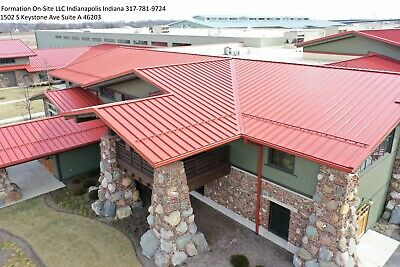 Brand New 2624 Or 22 Gage Standing Seam Metal Roofing Panels