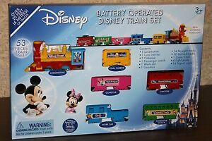 Mickey mouse train set ebay for Disney mickey mouse motorized choo choo train with tracks