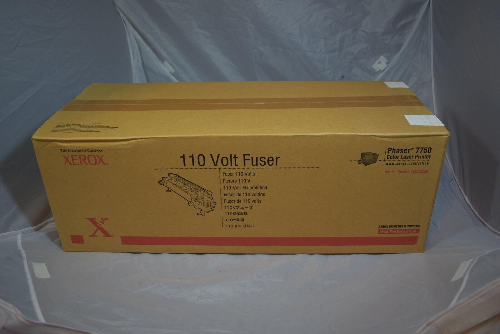Genuine Xerox Phaser 7750 110 Volt Fuser 115R00025