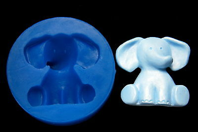 Sugarcraft Silicone Molds Chocolate Mold Fondant Mould Soap Making Clay elephant