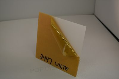 White Plexiglass Acrylic Sheet Color 2447 18 X 24 X 24