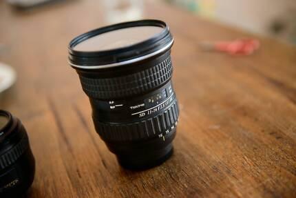 Tokina 11-16 2.8 NIKON +Hoya UV filter $60 included