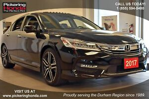 2017 Honda Accord Touring Clean CarProof|Navigation|Leather U...