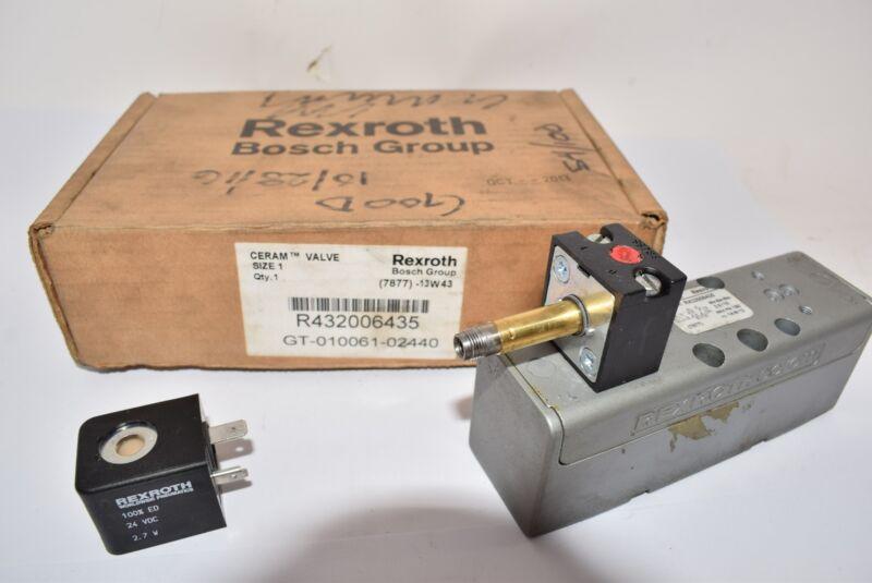 Bosch Rexroth R432006435 Solenoid-Operated Air Control Valve, Aventics