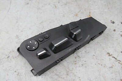 2011 BMW 750i F01 F02 Front Left Driver Side Seat Adjust Switch Control Buttons