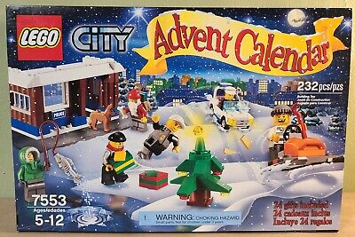 LEGO City Advent Calendar 2011 (7553) NIB