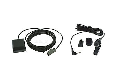 GPS ANTENNA & MIC FOR ALPINE INE-W960A INEW960A *SHIPS TODAY*