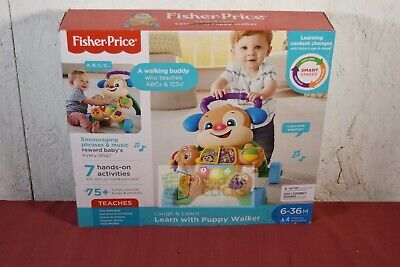 Fisher-Price Laugh and Learn Smart Stages Learn With Puppy Walker