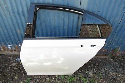 2011 BMW 750i F01 Rear Left Driver Side Door Shell Frame Alpine White OEM