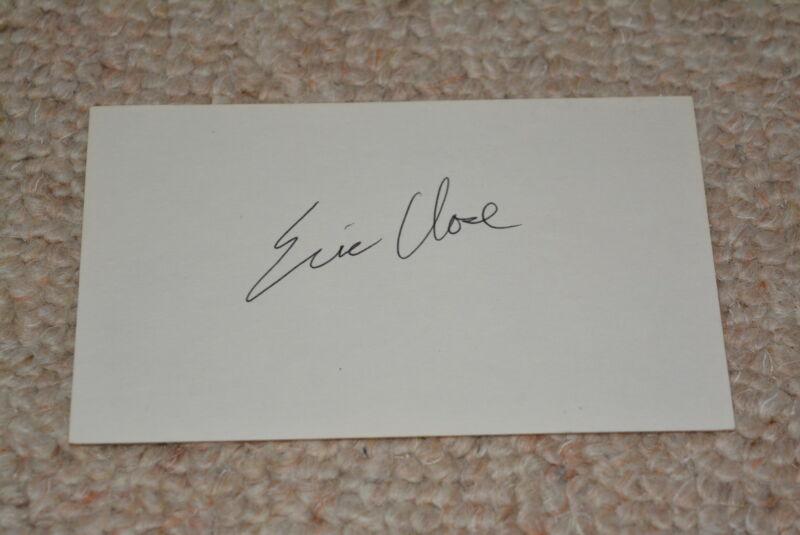 ERIC CLOSE signed Autogramm In Person   NASHVILLE , CRIMINAL MINDS