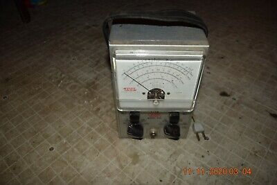 Excellent Working Vintage Eico 232 Vtvm Peak To Peak Vacuum Tube Voltmeter