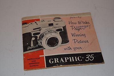 """Инструкции и руководства Vintage Graflex """"Graphic"""