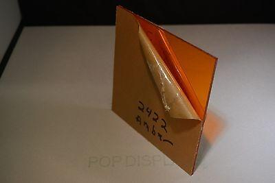 Amber Acrylic Plexiglass Sheet Color 2422 14 X 36 X 24