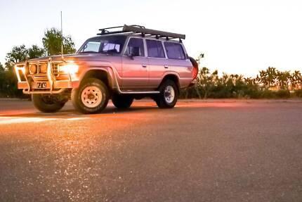 1989 Toyota LandCruiser  Manual SUV Leederville Vincent Area Preview